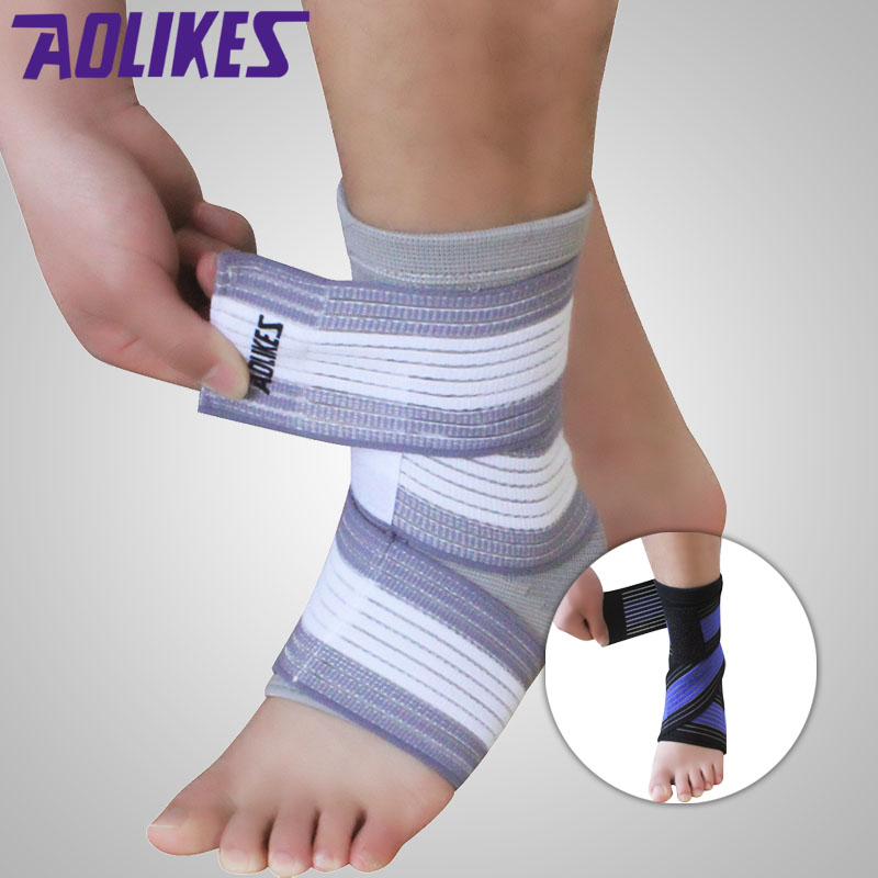 AOLIKES Ankle Support Compression Bandage Outdoor Sport Brace sprain Protect Sock