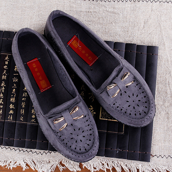 Women Flats Hollow Out Comfortable Loafers Women Shoes