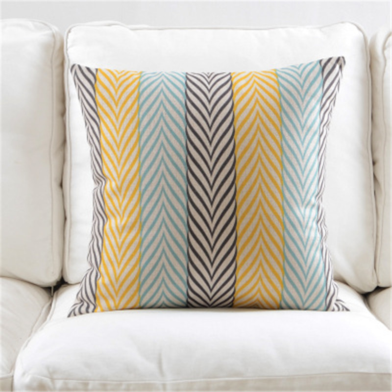 Nordic Style Cushion Cover Geometric Cushion Decorative Pillow Case Floral Printed Cushions Cover