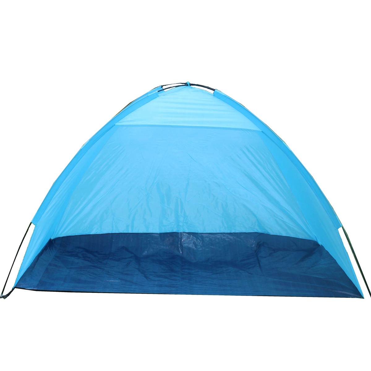 Outdoor 1-2 Person Camping Tent Single Layer Waterproof UV Beach Sunshade Canopy
