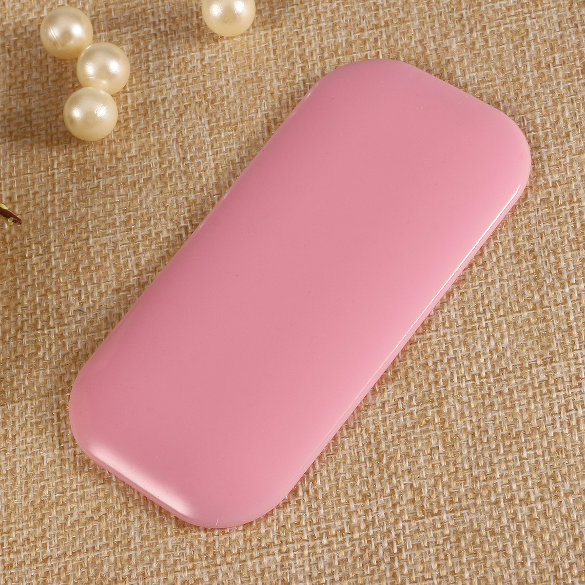 1Pc Pink Clear Silicone Eyelashes Pad Reuseable Pallet Mat Stand Extension Grafting Makeup Tool