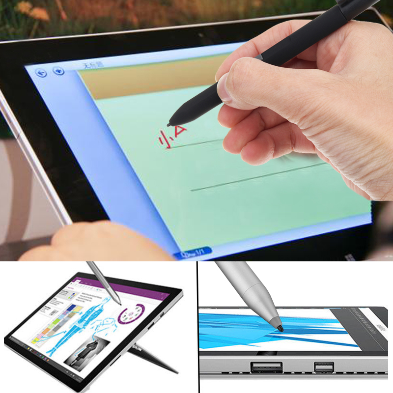 1024 Pressure Tip Eraser Active Stylus Pen For Surface Pro 4 3 MS Surface Studio Tablet