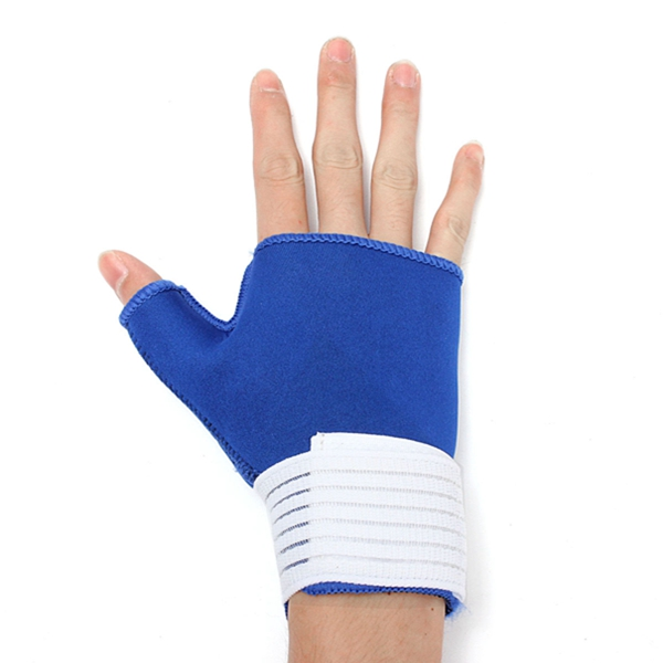 Thumb Wrap Hand Palm Wrist Brace Support Splint Arthritis Relief Gloves