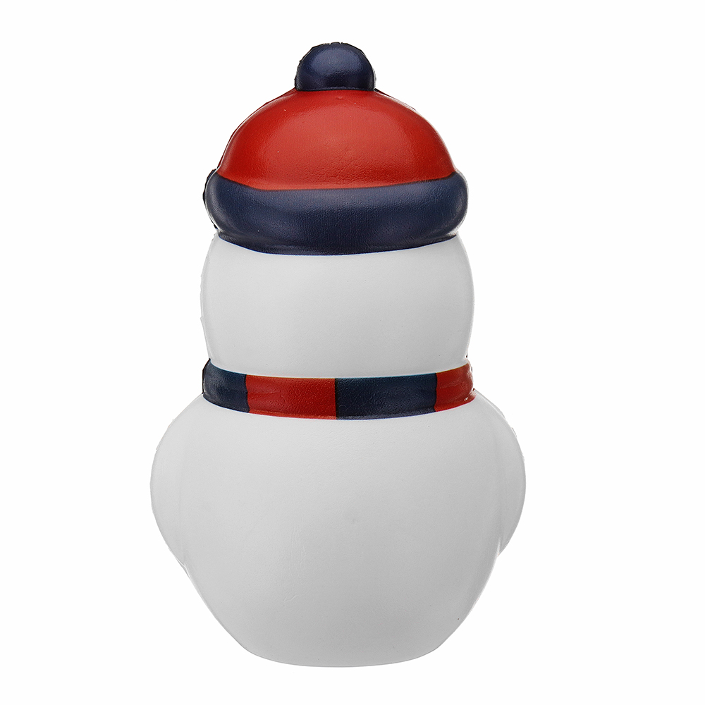 Cooland Christmas Snowman Squishy 14.4×9.2×8.1CM Soft Slow Rising With Packaging Collection Gift Toy