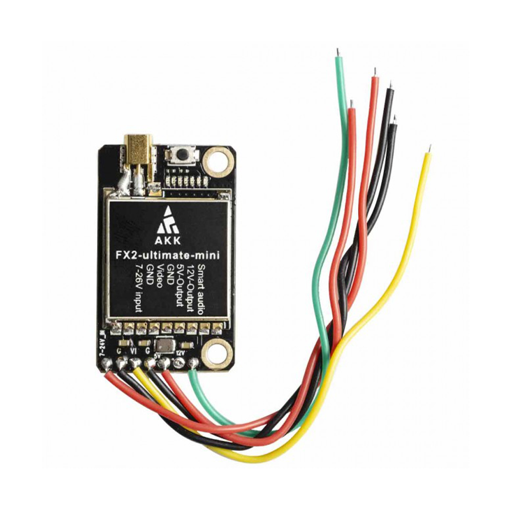 AKK FX2 Ultimate Mini International 5.8GHz 40CH 25mW/200mW/600mW/1000mW Switchable FPV Transmitter