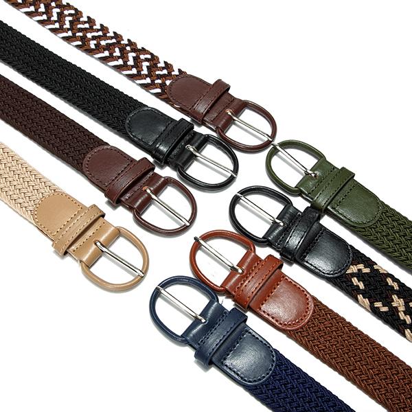 Unisex Mens Women Stretch Elastic Belt Fashion Alloy Pin Buckle Belt Waistband Pants Strip