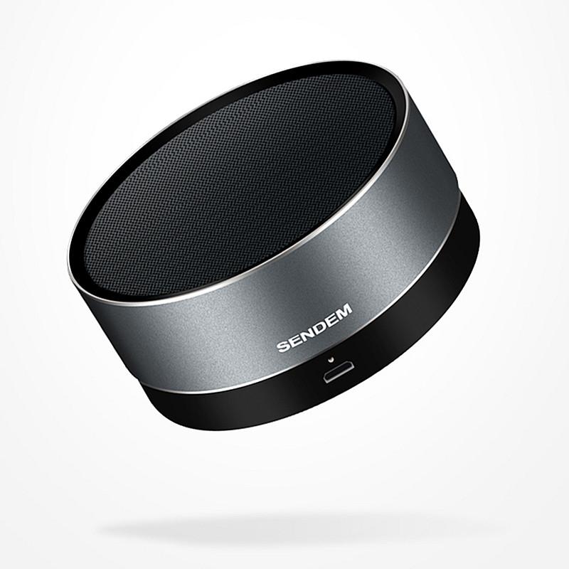 F3 Metal Wireless Bluetooth Speaker Portable Subwoofer