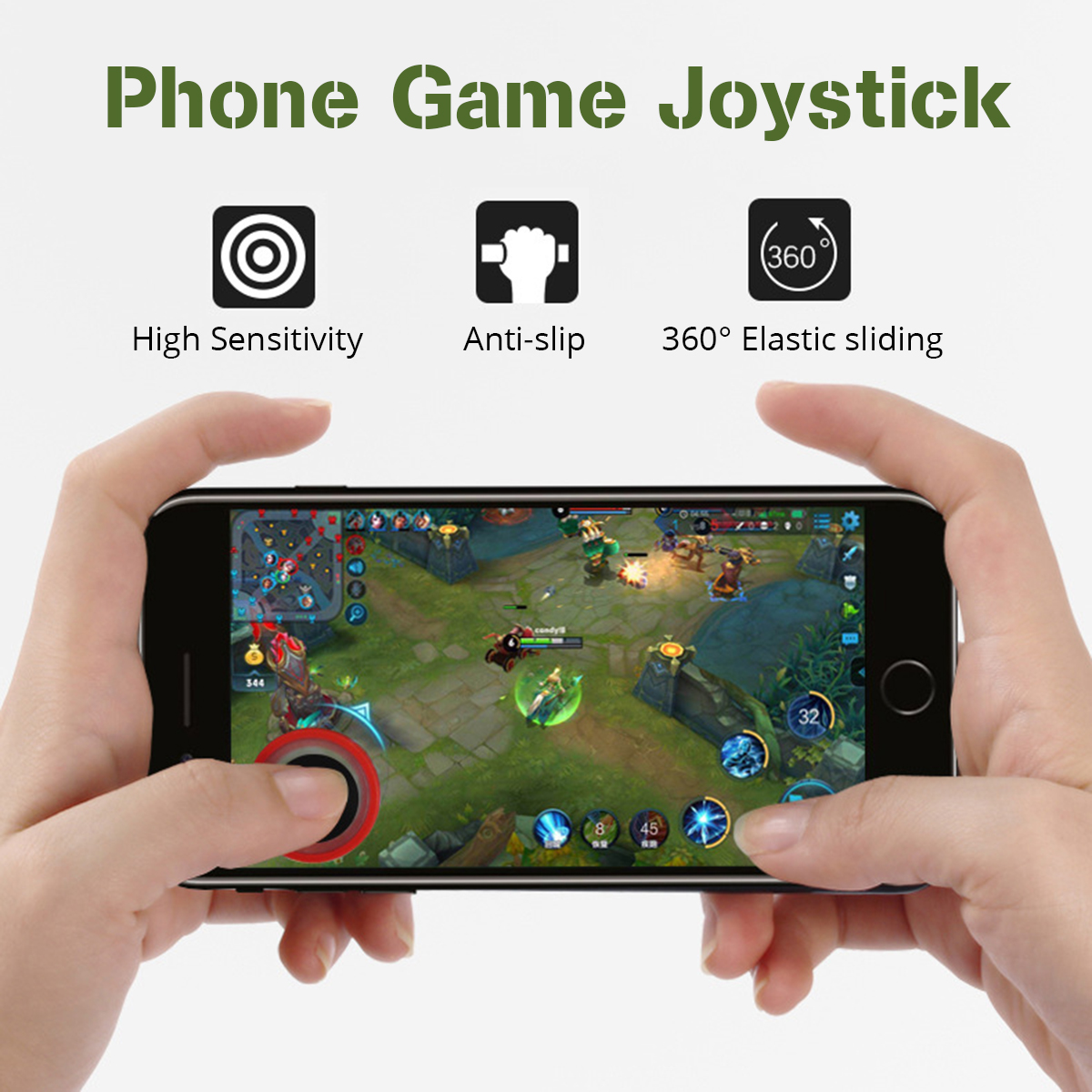 Mobile Phone Joystick Game Controller Tool For PUBG FORNITE FIFA2018 Random Color