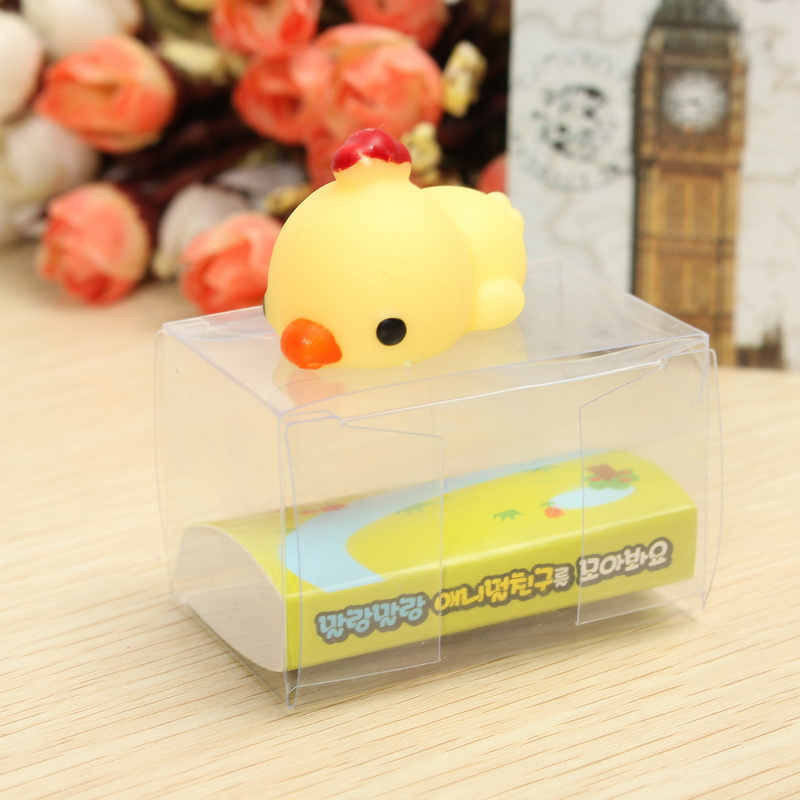 Chick Chicken Squishy Squeeze Cute Healing Toy Kawaii Collection Stress Reliever Gift Decor
