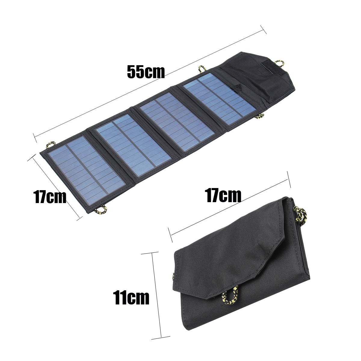 Pannello Solare Con Porta Usb : Ipree ™ v w portable solare pannello esterno di
