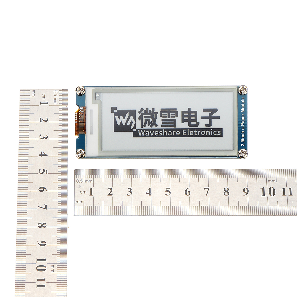 Waveshare® 2.9 Inch E-ink Screen Display e-Paper Module SPI Interface Partial Refresh For Arduino Raspberry Pi
