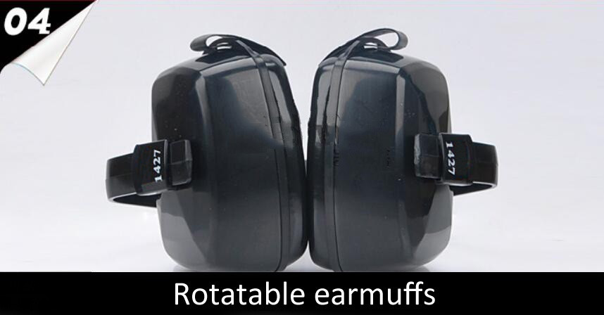 1427 Tactical Hunting Anti-noise Ear Muffs Shooting Multi Angle Wear Hearing Protector for Driver