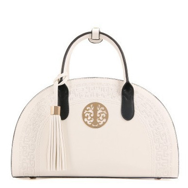 Lady's National Style Semicircle Elegant Handbag Shoulder Ba