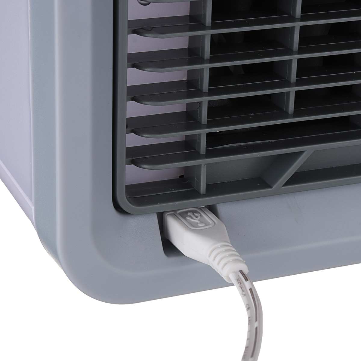 8W 12V USB Mini Summer Arctic Space Cooler Air Cooling Equipment Air Conditioner Home Office LED