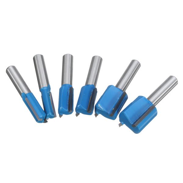 8mm Shank Straight Router Bit 6mm/8mm/10mm/12mm/14mm/18mm/20mm Woodworking Cutter