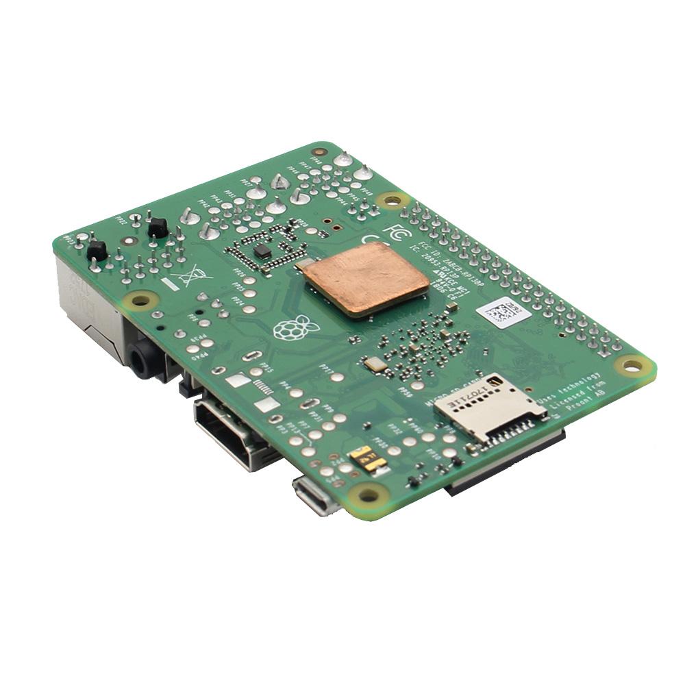 4 in 1 Raspberry Pi 3 Model B+(Plus) + Acrylic Case + Cooling fan + Heatsink Kit