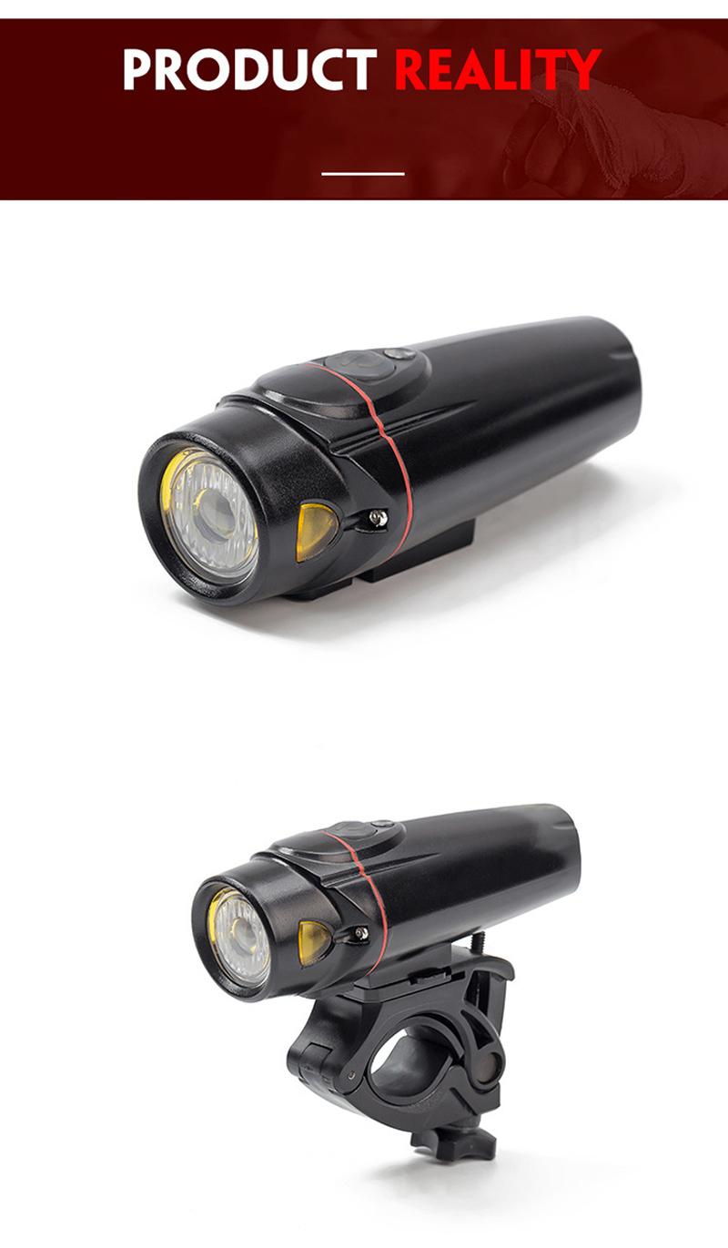 XANES SFL11 650LM T6 LED German Standard Smart Sensor Cycling Light 4 Modes USB Rechargeable IPX5 Waterproof Bike Front Light