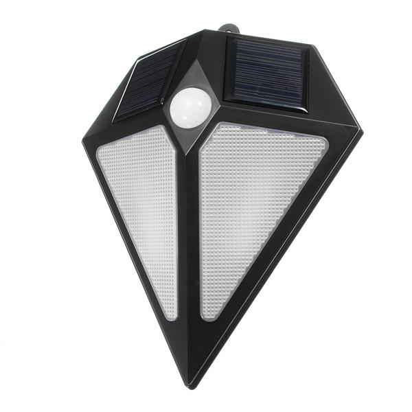6 LED Solar Powered Waterproof PIR Motion Sensor Wall Light Outdoor Garden Sercurity Night Lamp