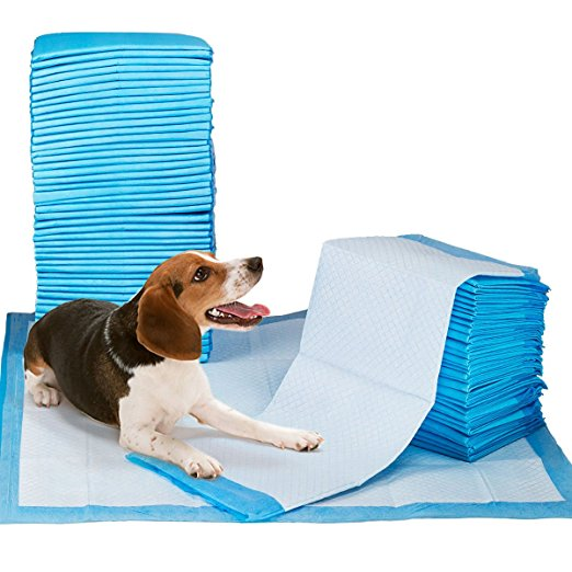 50 PCS Dog Pee Training Potty Pads Quick Drying Surface Super Absorbent Core Pet Supplies