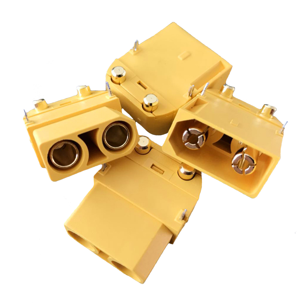 Amass XT90PW 4.5mm Gold-Plated Banana Plug Connector Ma