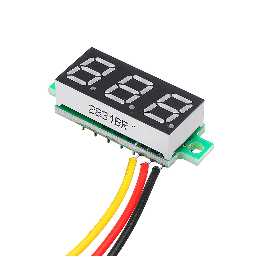 Geekcreit® 0.28 Inch 2.5V-30V Mini Digital Volt Meter Voltage Tester Voltmeter