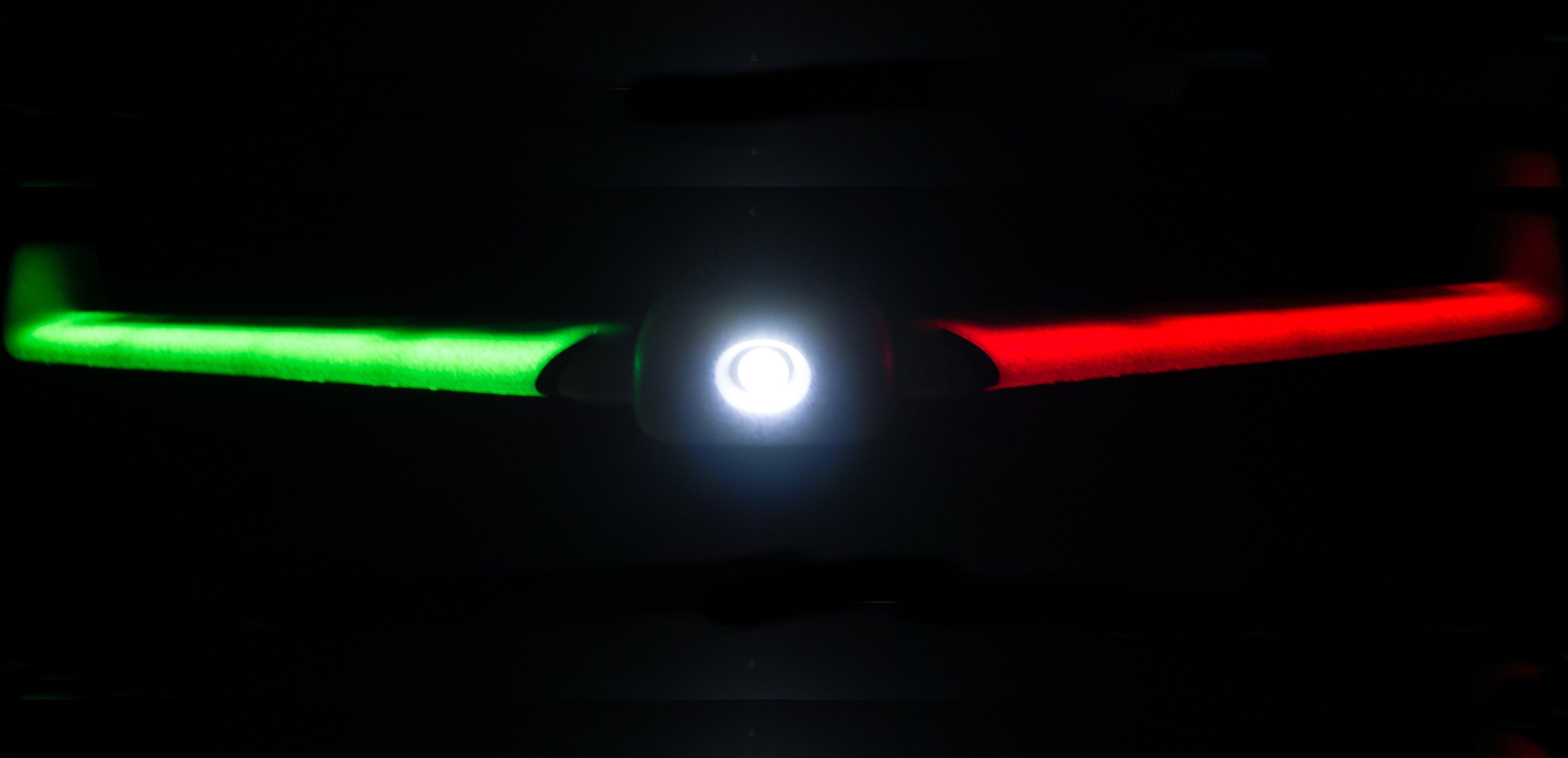 ZOHD Orbit Neon 900mm Wingspan EPP FPV Night Flying Wing RC Airplane PNP Integrated LED Light Strip