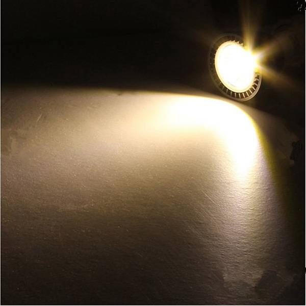 E27 5W 85-265V White/Warm White Energy Saving LED COB Spotlightt Lamp Bulb