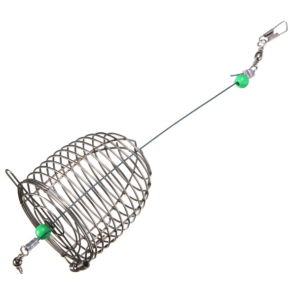 ZANLURE 10g Stainless Steel Wire Fishing Bait Lure Cage