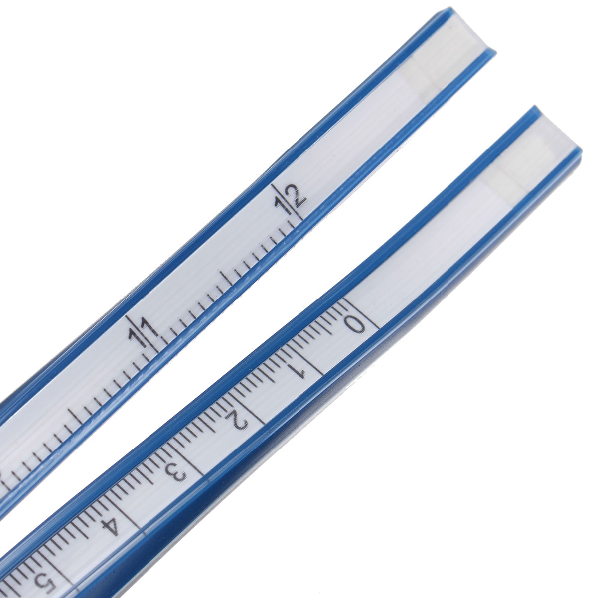30cm Flexible Plastic Ruler Measuring Gauge Ruler Technical Curve