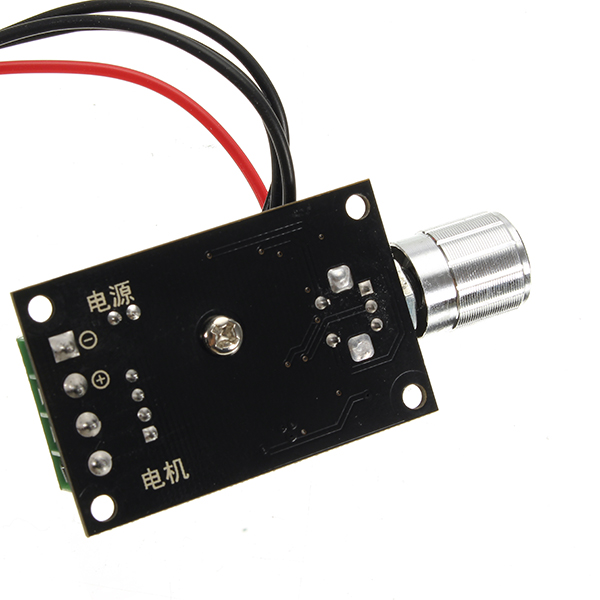 6V 12V 24V 3A 80W PWM DC Motor Speed Controller With Reversible Control Switch