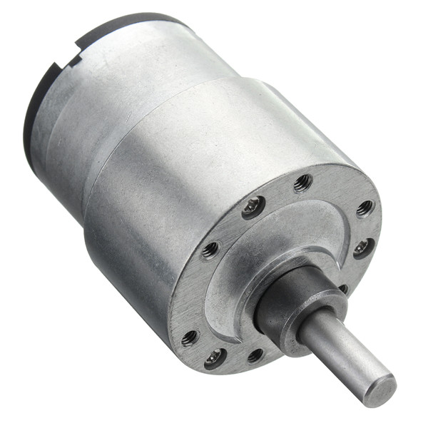 JGB37-520 DC 24V Gear Motor 66-960 RPM High Torque Mini Gear Box Moter