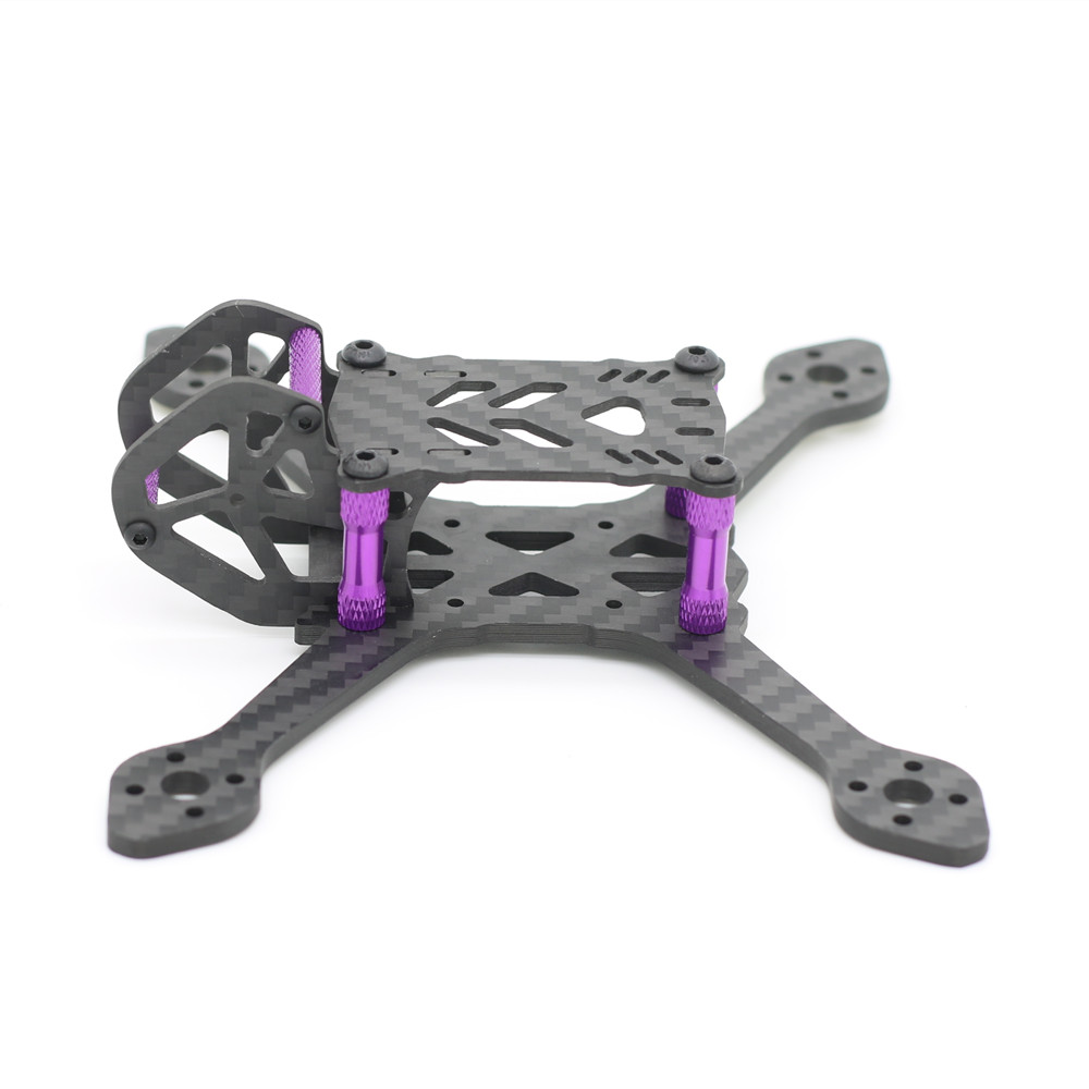 38g 135mm Wheelbase 3mm Arm Thickness Carbon Fiber Frame Kit for RC Drone FPV Racing