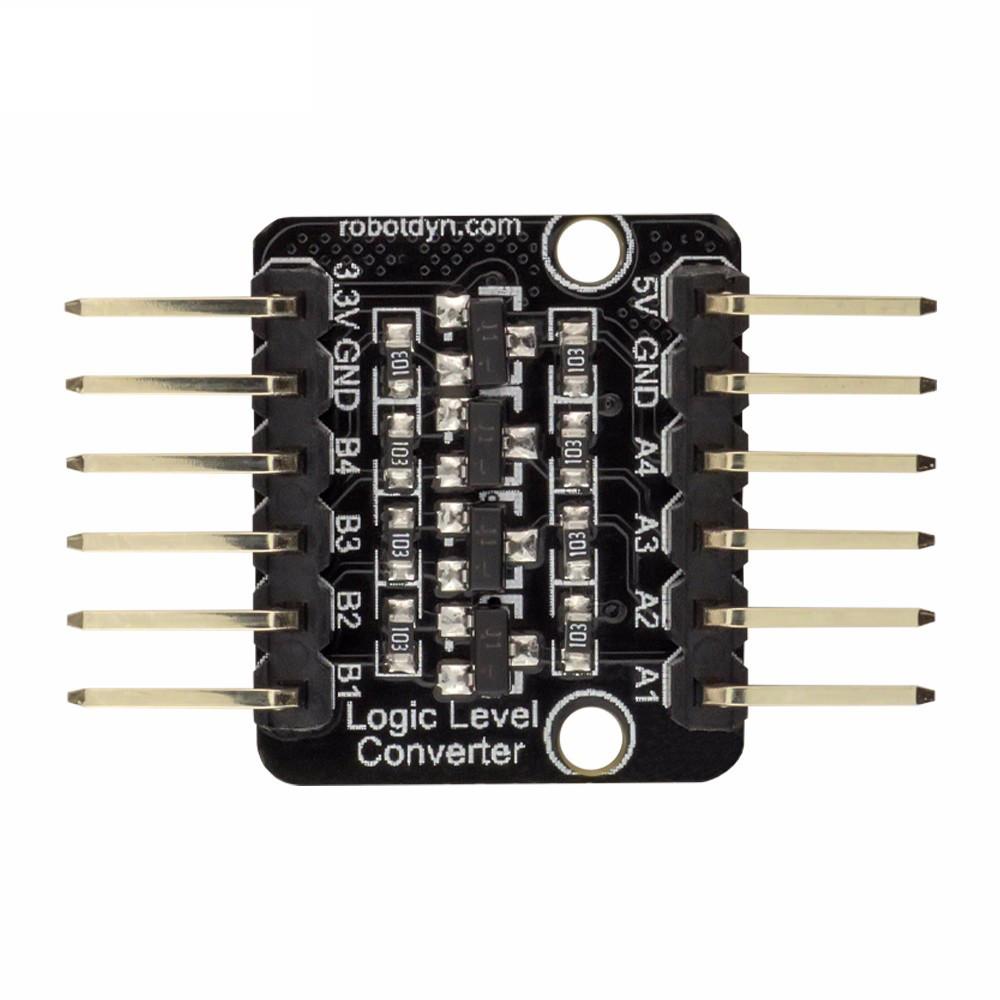 5Pcs RobotDyn® 4 Chanels Logic Level Converter High Speed Bi-Directional 3.3V-5V