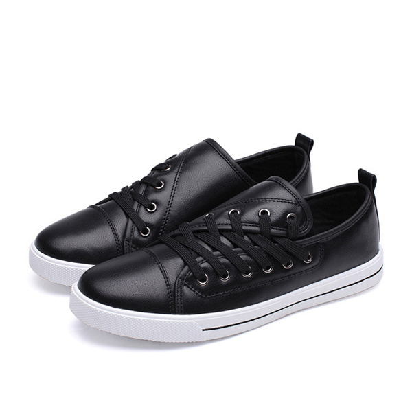 Lace Up Soft Sole Breathable Athletic Shoes