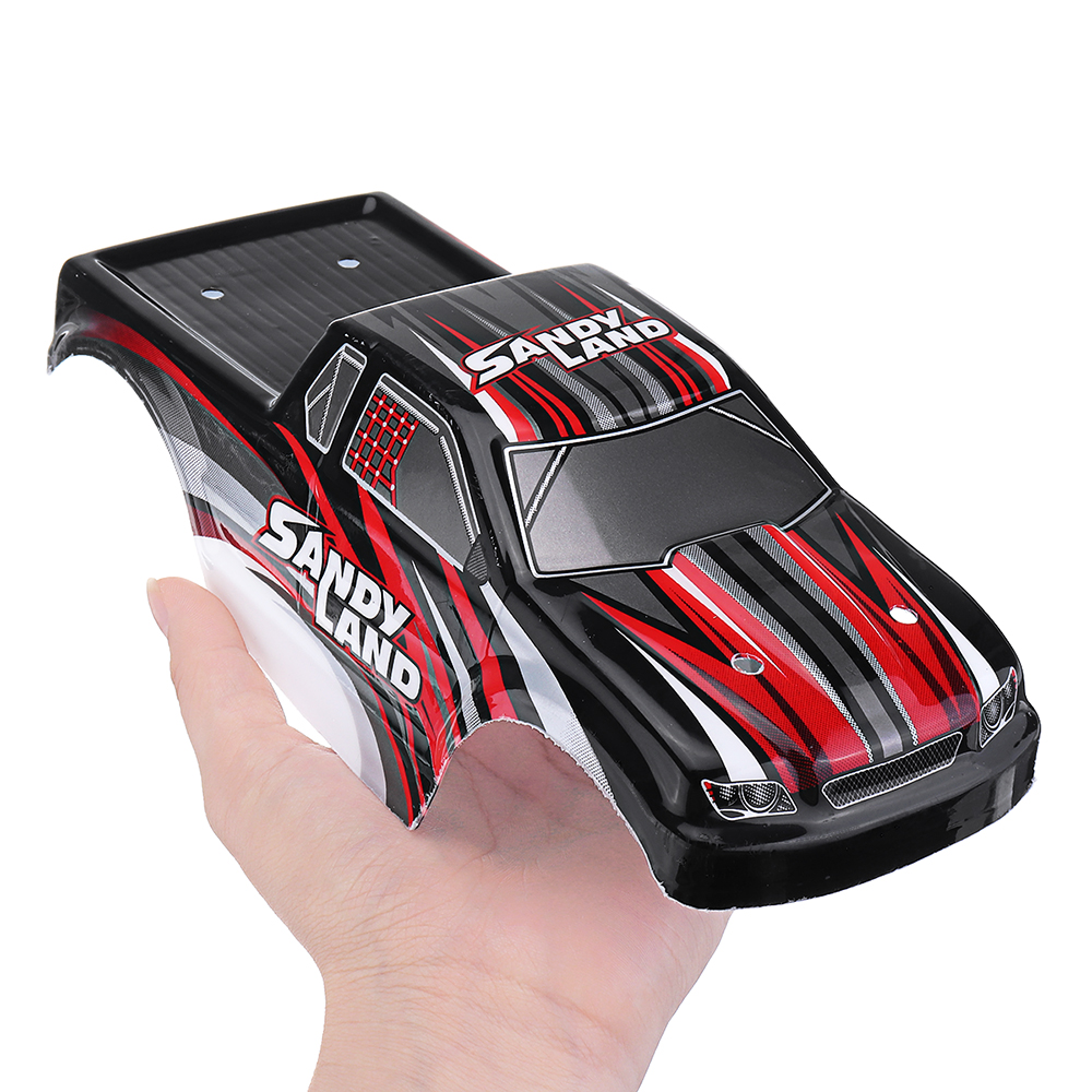PXtoys Rc Car Red Color PVC Body Shell for 9300 1/18 Spare Parts PX9300-23