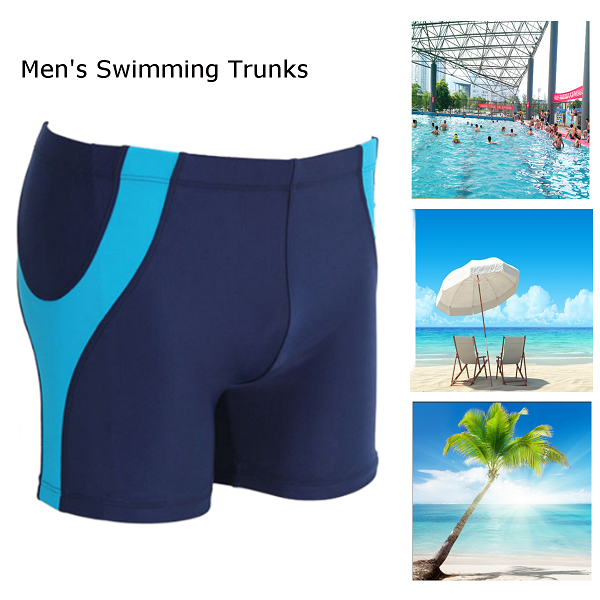Men Quick Drying Summer Beach Swimming Shorts Swimwear Board Shorts Swimming Trunk