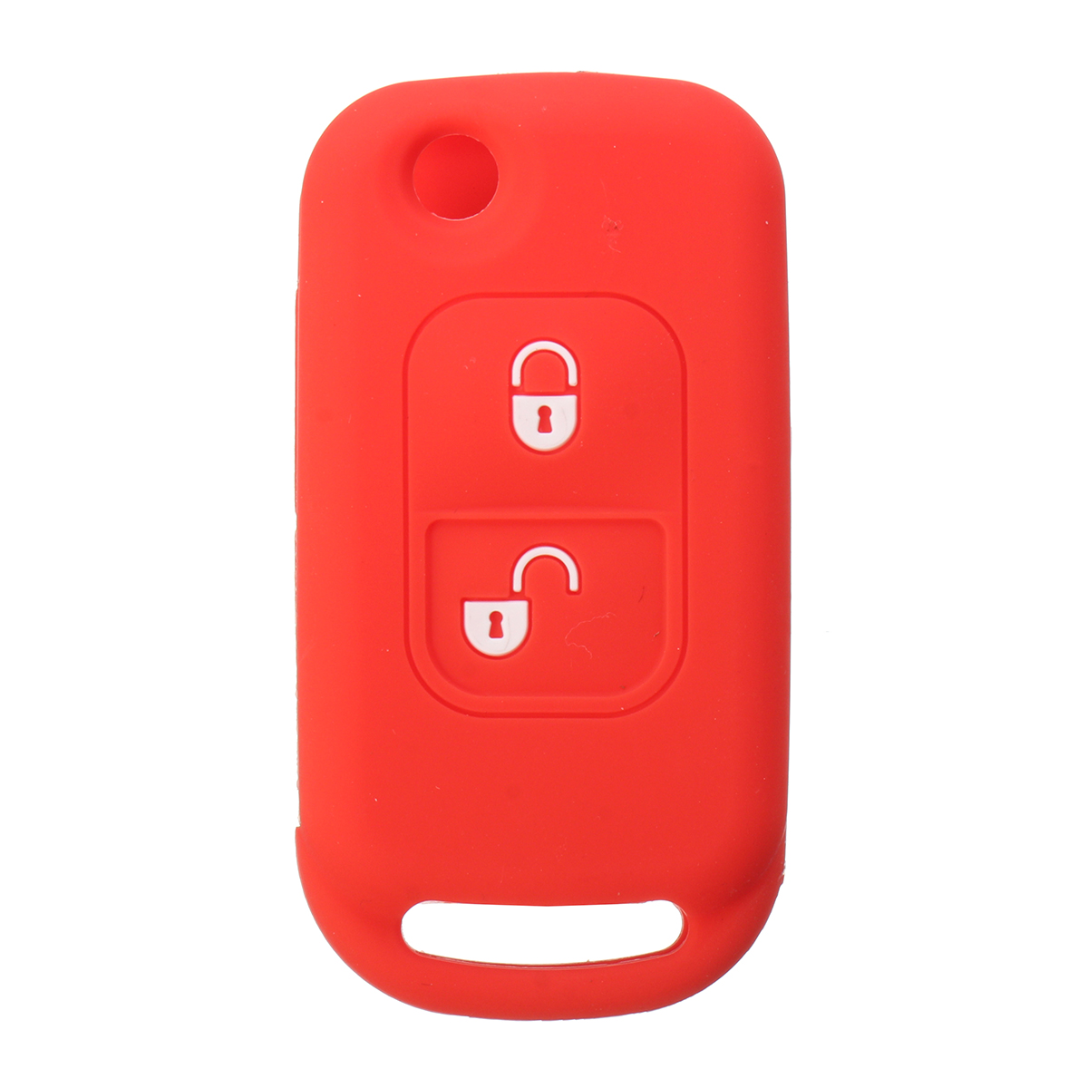 Car Key Case Cover 2 Button Silicone remote key Cover Case For Mercedes