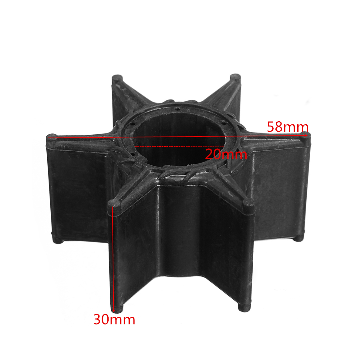 Water Pump Impeller For Yamaha 70HP 75HP 85HP 90HP Outboard 688-44352-03 18-3070