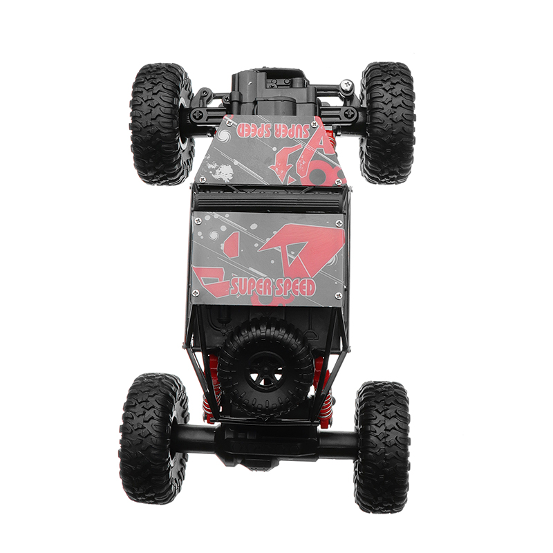 JD Toys 699-83 1/18 RC Car 4WD 27MHZ Rock Crawler Climbing Remote Control 4x4 Off-Road Vehicle