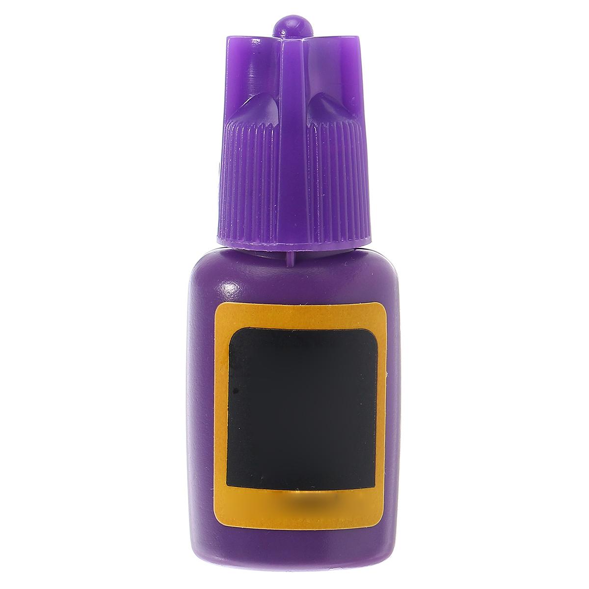 10ml False Eyelash Glue Long Lasting Adhesive Glue For Professional Practice Grafting Eyelashes Exte
