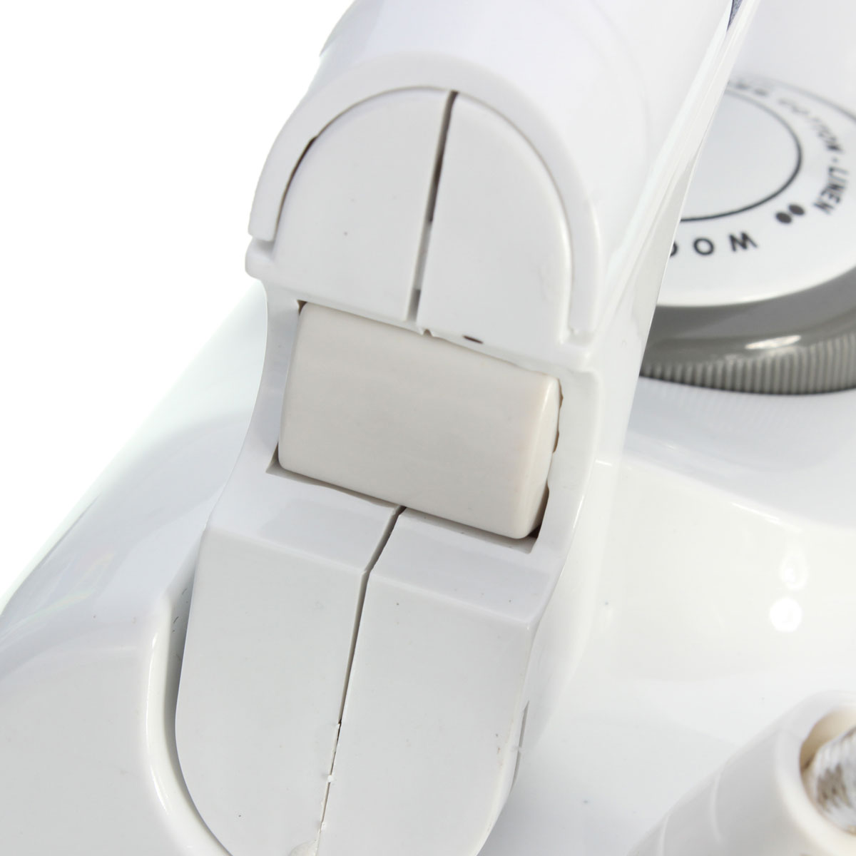 Portable Foldable Folding Adjustable Thermostatic Compact Handheld Flat Travel Steam Iron Temperature Control