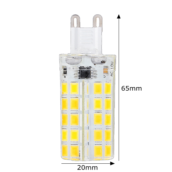 Dimmable G9 7W SMD 5730 LED Corn Light Bulb Replace Chandelier Lamp AC110/220V