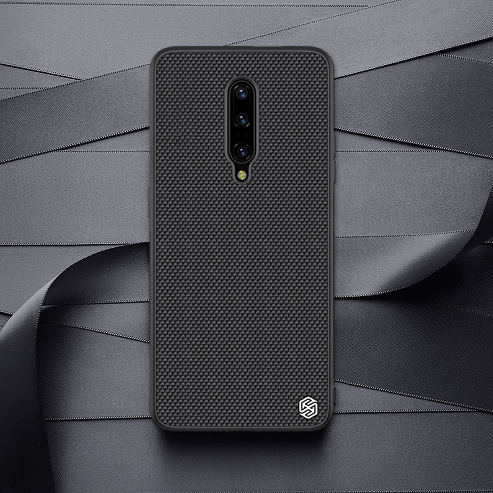 NILLKIN Slight Nylon & Synthetic fiber Anti-scratch Textured Protective Case for OnePlus 7 Pro