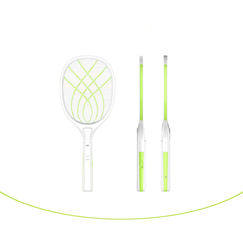 USB Electronic Mosquito Swatter Fly Mosquito Dispeller Zapper Swatter Killer Racket Tools