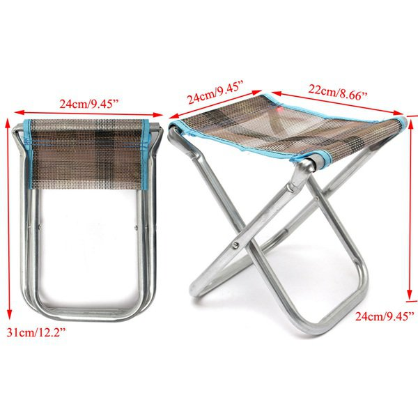 Folding Chair Outdoor Fishing Chair Camping Hiking Chair BBQ Chair
