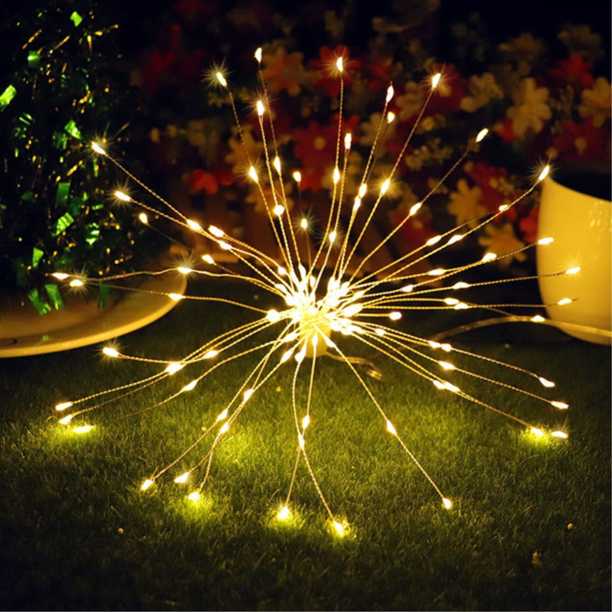 New 120 150 180 Led Firework Copper Wire Strip String