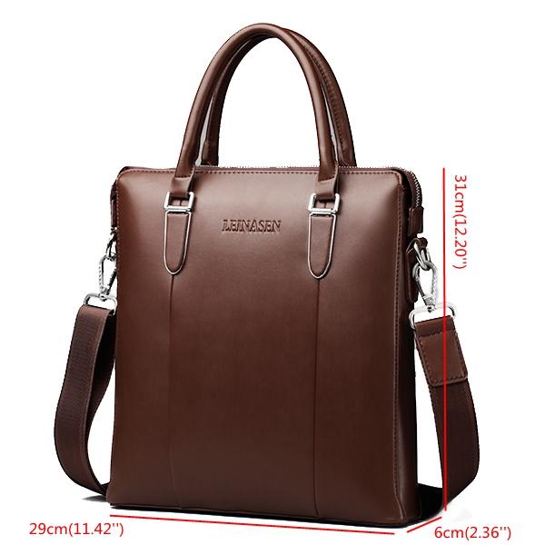 PU Leather The New Handbag Portable Shoulder Bag Messenger Bag Crossbody Bag For Men