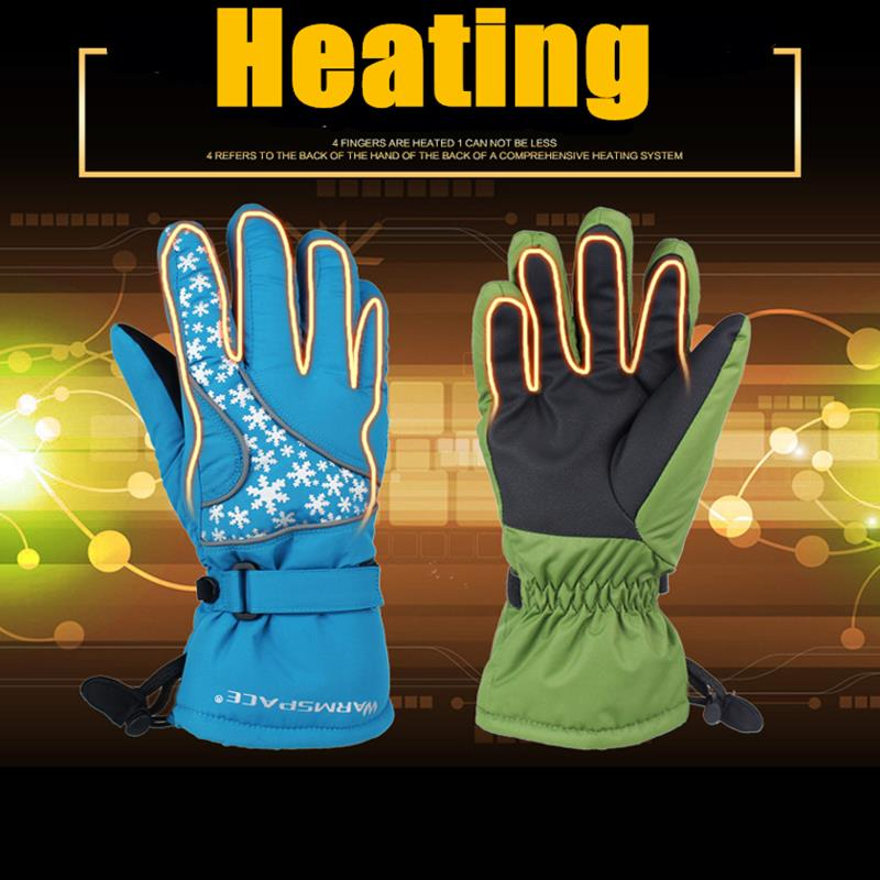 Motorcycle Warmer Heated Gloves Batterie Rechargeable Chauffants Gants Hiver For WARMSPACE