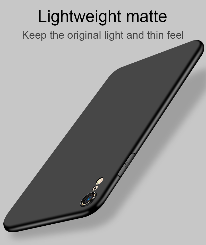 Bakeey Slim Anti Fingerprint Soft TPU Protective Case For iPhone XS/XS Max/XR