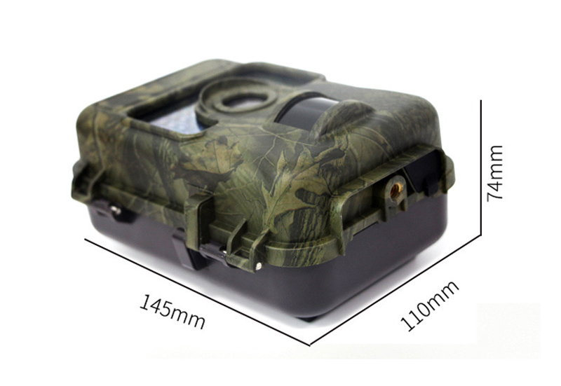 KALOAD H662 2.36in Screen Full HD 16MP Hunting Camera Night Vision IP66 Waterproof 0.6S Motion Digital Infrared Trail Wild Camera